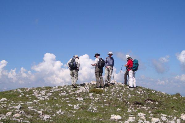 Walking on Bjelasica, Montenegro