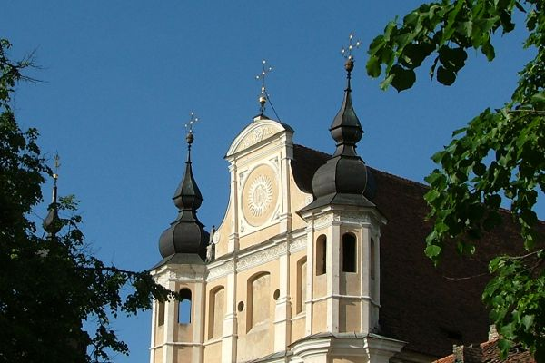 One of Vilnius's many churches