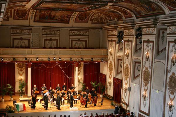 Concert in Schloss Esterhazy, Eisenstadt, Austria