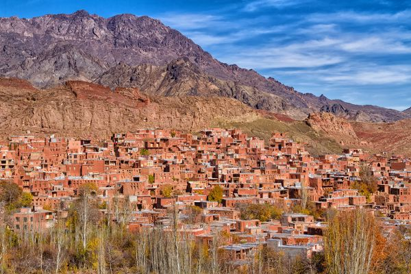 Traditional mountain village of Abyaneh, Iran