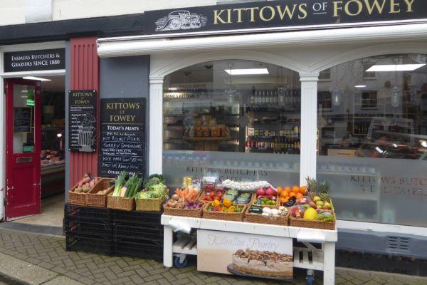 Shop front in Fowey