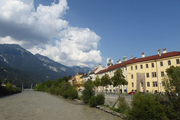 River Inn and Innsbruck's Old Town