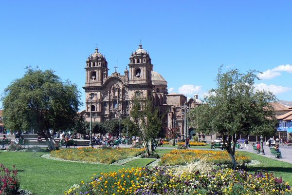 Cusco Cathedral on Plaza de Armas