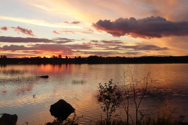 Sunset in Kuhmo
