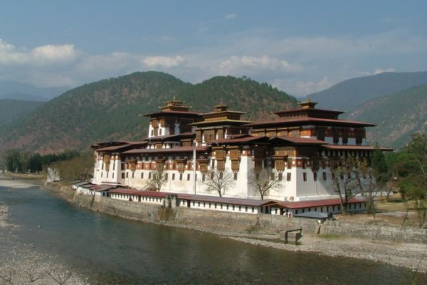 Punakha Monastery, Bhutan