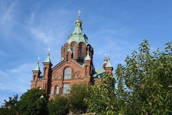 Uspenski Cathedral in Helsinki