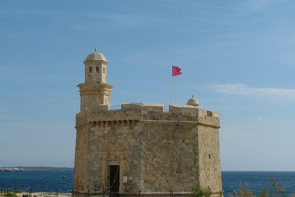 Castel de S Nicolau, Ciutadella, Menorca