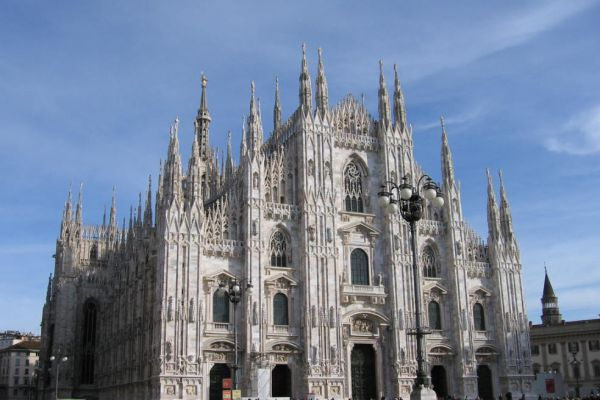 The Duomo of Milano, Italy