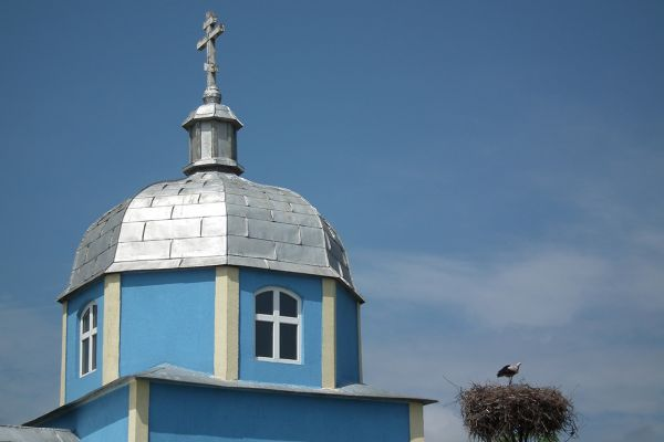 Church of Russian Old believers in Danube delta, Romania