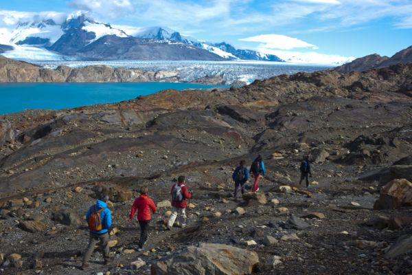 Walking in Patagonia