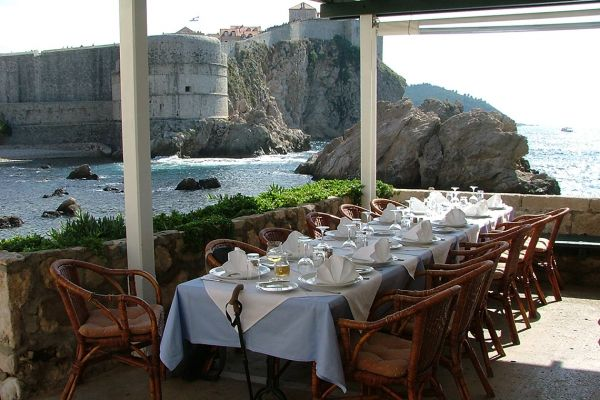 Lunch with a view, Dubrovnik