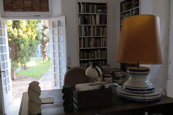 Patrick Leigh Fermor's study in Kardamili