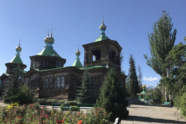 Orthodox Cathedral in Karakol