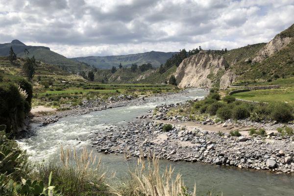 Colca River, Peru