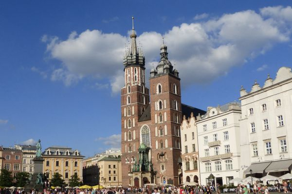 Krakow's main square