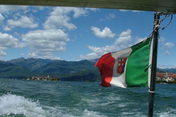 Boat trip on Lake Orta, Italy