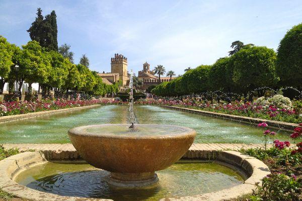 Alcazar Gardens in Cordoba