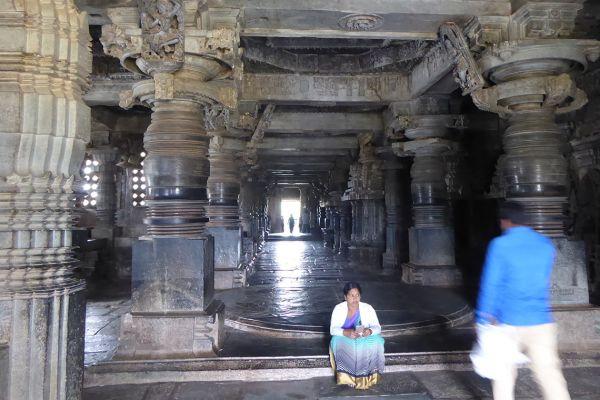 Hoysaleshvara Temple in Halebid