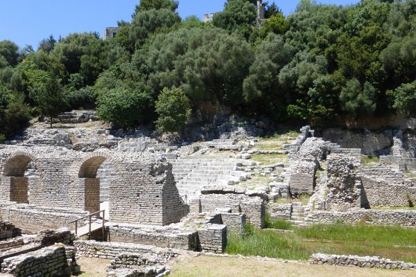 Butrint - the most important and best-preserved archaeological site in the Balkans