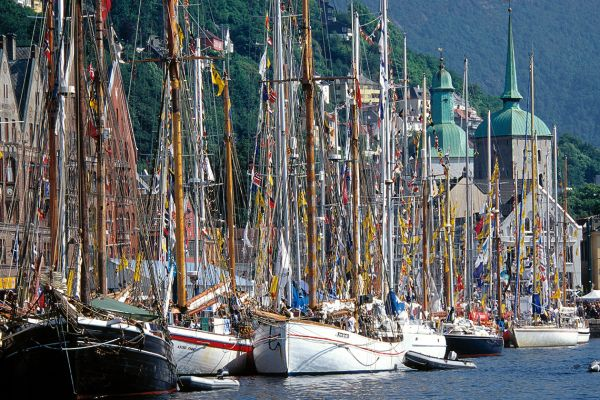 Traditional Norwegian boats