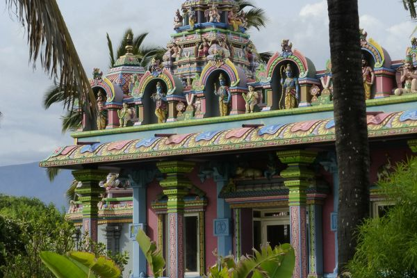 Hindu temple in St Pierre, Réunion