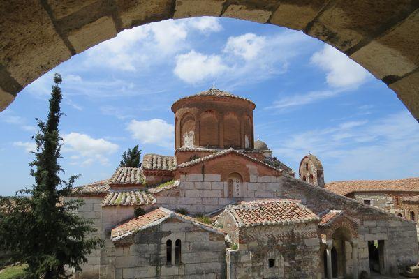 The church at Apollonia, Albania