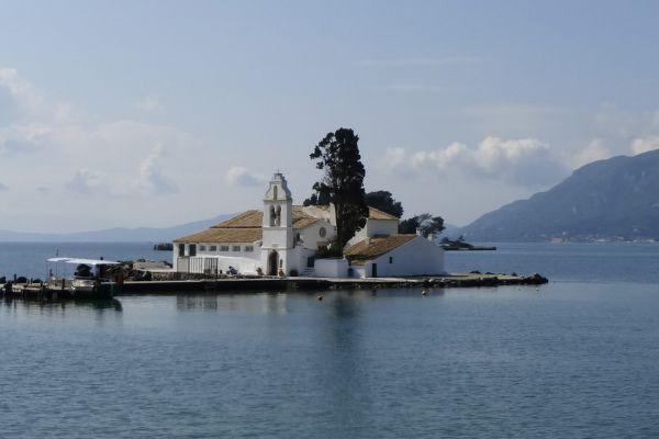 Vlacherna Monastery near Corfu Town