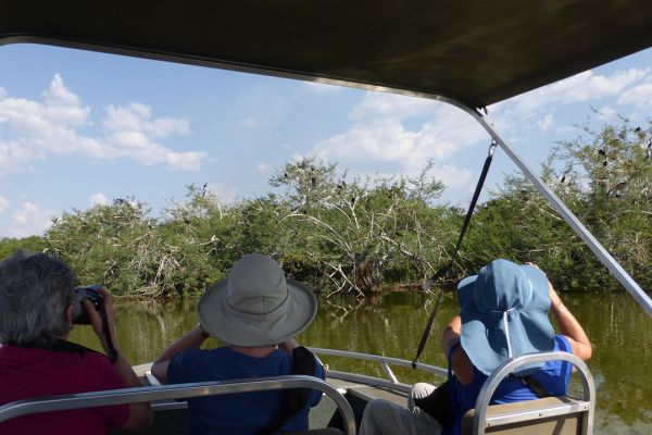 Akagera National Park, boat trip on Lake Ihema
