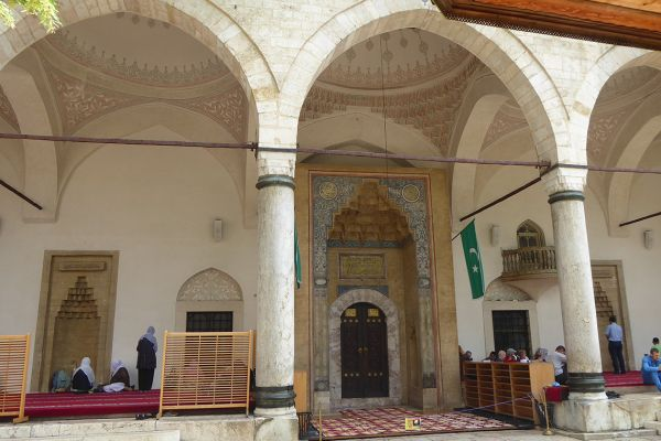 Gazi Husrev Beg Mosque in Sarajevo