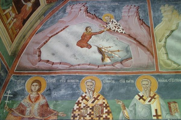 Byzantine frescoes, Montenegro