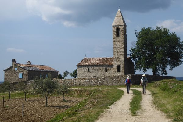 Walking in Istria
