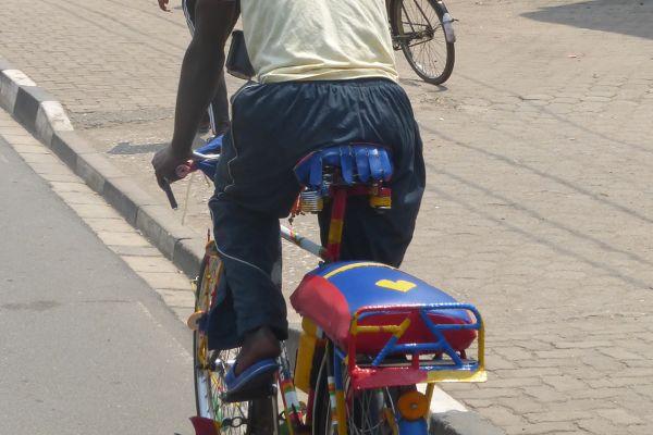 Rwanda bike taxi