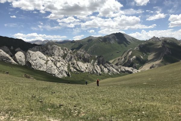 Walking in Kyrgyzstan