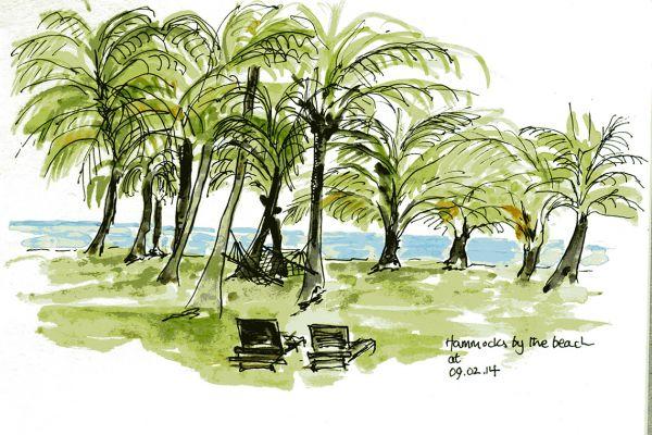 Kerala hammocks