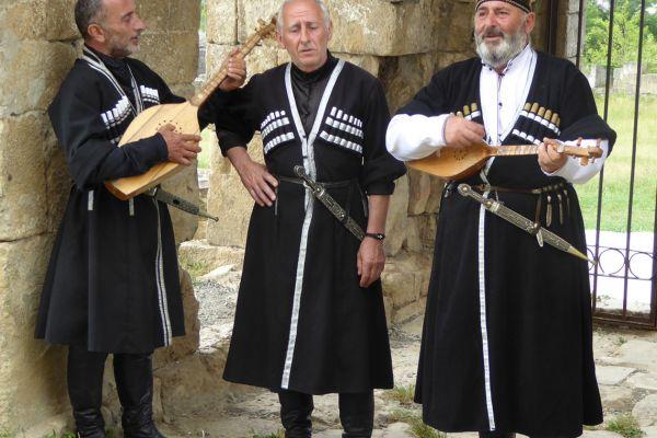 Folk music band, Georgia