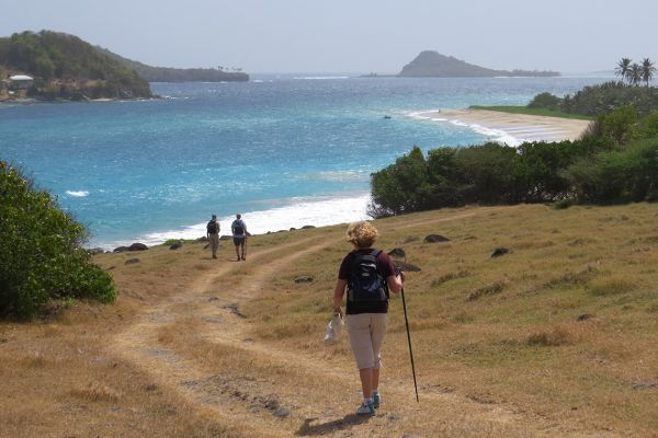 Walking on Grenada