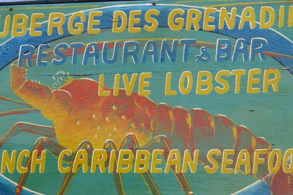 Bequia - fresh lobster