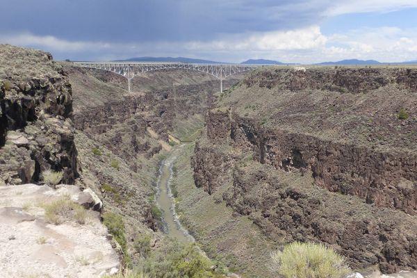 Rio Grande Bridge nr Taos