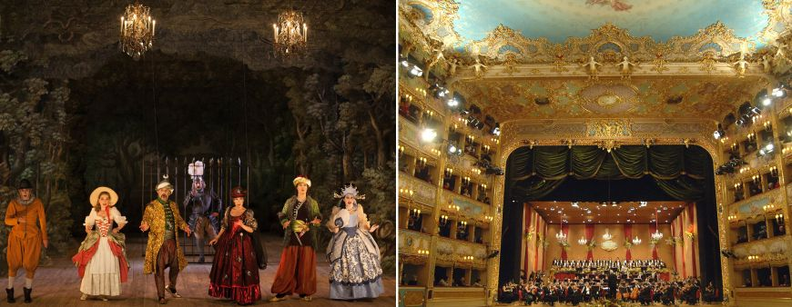 Opera, ballet and classical music