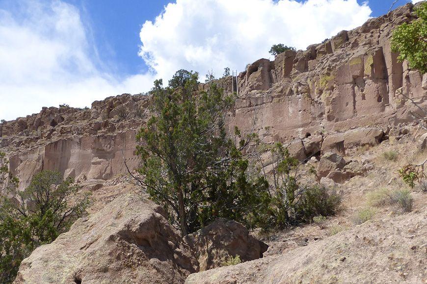 Santa Fe - Puye Cliffs
