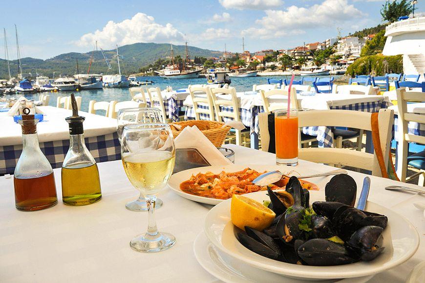 Corfu meal