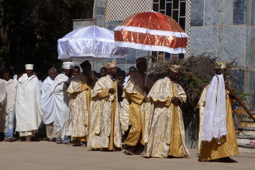 Ethiopia procession