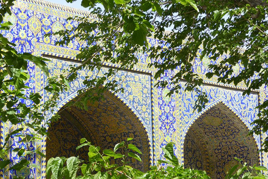 Iran Isfahan tiles