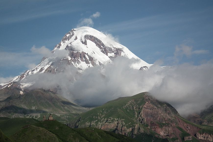 Georgia Mount Kazbeg