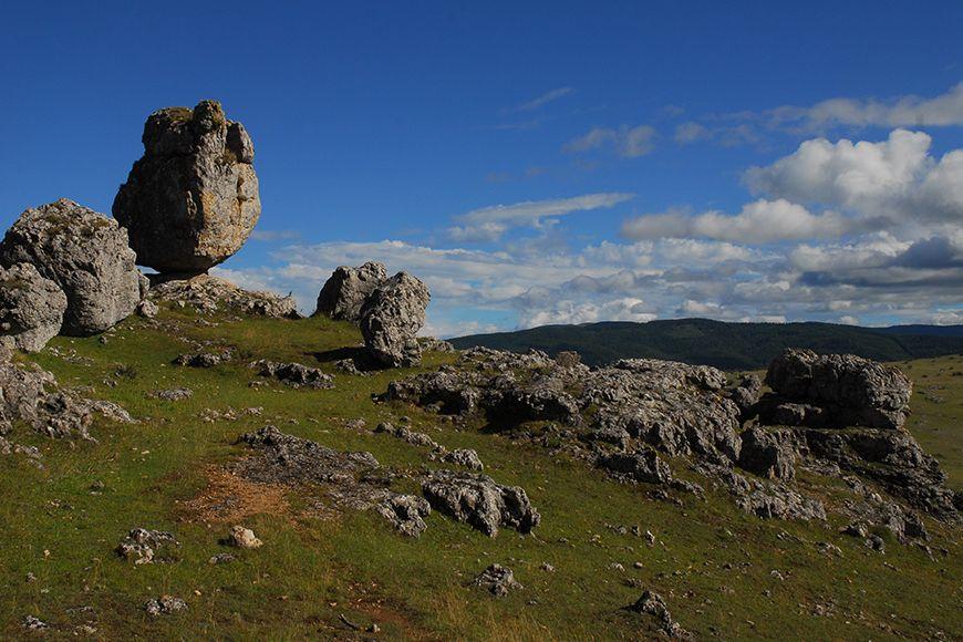 Cevennes rocks