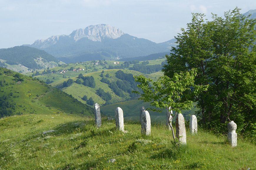 Bosnia Herzegovina tombstones