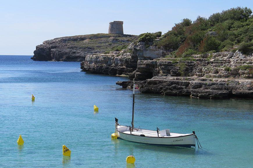 Menorca boat