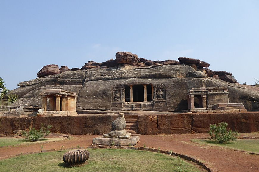 India Aihole Cave Temple