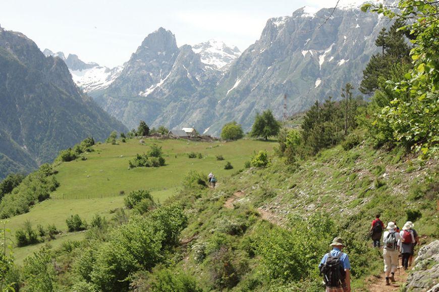 Albania - walk