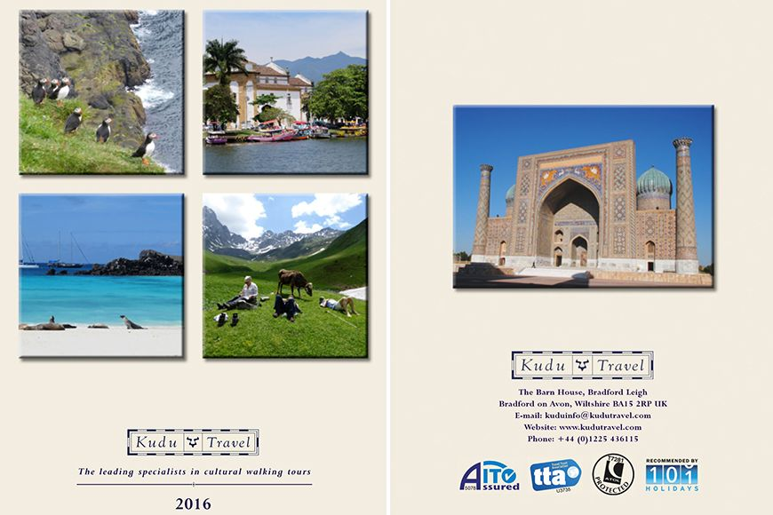 Kudu Travel brochure 2016